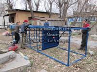Фотография номер 3 Фотография Мачтового грузового подъемника 4 и 6 метров с шахтой купить в Киеве