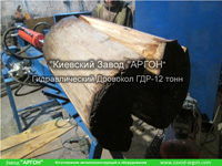 Фотография номер 5 Гидравлического Дровокола — ГДР-12 усилием 12 тонн купить в Киеве